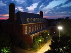 University of Illinois, at night-Urbana=Pictures of Illinois | PlanetWare