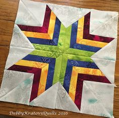 Hello, fabric lovers! Is your turkey thawing in the bathtub? :)   It's the second last day of our Dreamscape Block Blog Hop today . For th...
