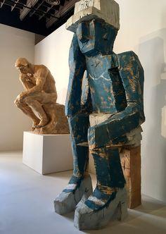 Rodin & Baselitz - exposition Rodin - Grand Palais Paris 2017