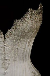 I do love a crystal encrusted corset