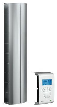 Kurtyna ta posiada inteligentny układ sterowania SIRe oraz wentylatory promieniowe.