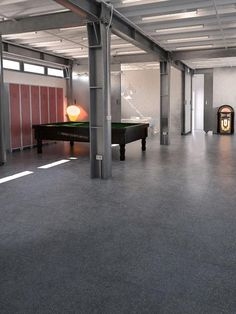 Product: porcelain tiles FACTORY, finish: metal, setting: commercial area