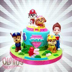 Hmmm... more and more requests of this cute puppies squad #pawpatrol  #pawpatrolcake from a Birthday girl and boy #Birthdaycake #customcake #customcakejakarta #partyfavour #kueulangtahunjakarta #jajanjakarta #delicious #sweettable #fondant3D #caketopper #sugarart #olanoscakes #olanos #jakarta #yummy #amazing #instafood #sweet #cake #olshopcake #jktfoodies