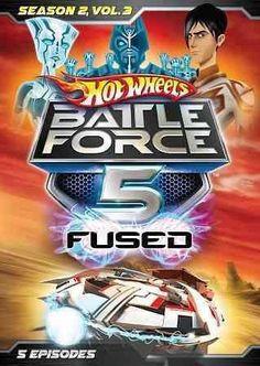 Hot Wheels Battle Force 5-Season 2 Volume 3 (Dvd/Ws)
