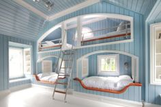 Bedroom - Hamptons Style Bunkbeds