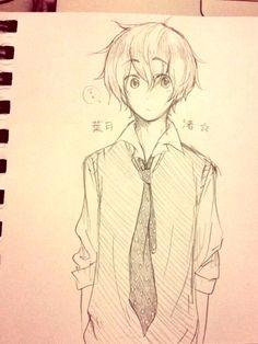 Anime Art Manga Chibi Boy Sketch