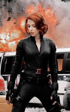 Avengers Black Widow Jacket is worn by Scarlet Johansson in this attraction as a part of her blissful Leather outerwear which gives stunning appearance. Captain Marvel, Hero Marvel, Marvel Avengers, Captain America, Avengers Girl, Avengers 2012, Marvel Comics, Marvel Films, Marvel Characters