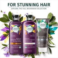Target : Expect More, Pay Less Hair And Skin Vitamins, French Beauty Secrets, Frizz Free Hair, How To Grow Natural Hair, Herbal Essences, Rice Milk, Passion Flower, Hair Affair, Hair Shampoo