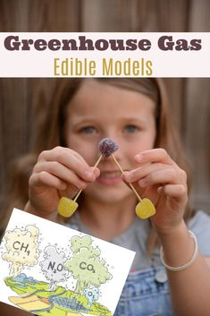 Models of greenhouse gases: methane, water vapour, nitrous oxide, ozone, carbon dioxide and CFCs. Learn about the greenhouse effect and global warming Biology For Kids, Chemistry For Kids, Science For Kids, Chemistry Art, Greenhouse Effect, Greenhouse Gases, Cool Science Experiments, Science Activities, Cool Science Fair Projects