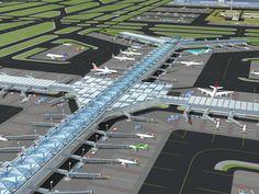 Johannesburg Tambo International Airport proposed midfield terminal