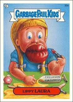 garbage pail kids | Garbage Pail Kids All-New Series... 30a A, Jan 2004 Trading Card by ...