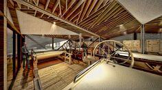 Weaving workshop within Hemp Textile Factory