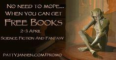 FREE books! April 2-3.   SO. MANY. BOOKS.