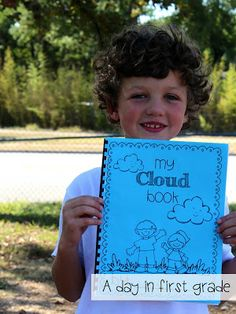have students observe and record their observations of clouds! a class favorite!!!