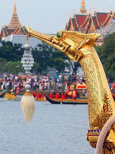 Royal Barge Procession in Bangkok