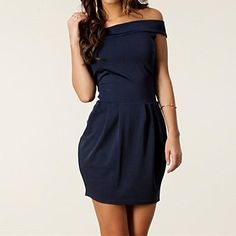Women's Graceful Sexy Off-the-shoulder Pleated Mini Dress - USD $ 11.99