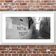 Travel Photography streets of Florence Italy street | Etsy Urban Photography, Street Photography, Travel Photography, Printable Art, Printables, Italy Street, Florence Italy, Black N White, Home Decor Styles