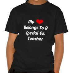 My Heart Belongs To A Special Ed Teacher T Shirt, Hoodie Sweatshirt