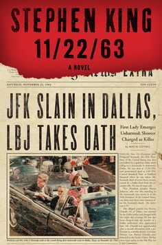 11/22/63 is a novel by Stephen King about a time traveler who attempts to prevent the assassination of John F. Kennedy which occurred on November 22, 1963. Its long but worth it! It would make a great movie.