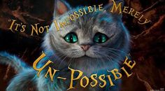 Alice through the looking glass Cheshire Cat quote
