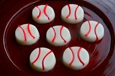 B is for: Baseball Jello Shots