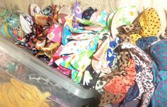 Ponytail holders  $500 (unidad) $1000 (3 unidades)