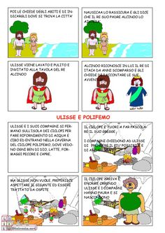 Odissea A Fumetti 1ª Media Aiutodislessia Net Sfida Di Lettura Le Idee Della Scuola Scuola Media