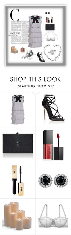 """""""Untitled #423"""" by xocolate ❤ liked on Polyvore featuring Dolce&Gabbana, Judith Leiber, Smashbox, Yves Saint Laurent, Frontgate and Le Mystère"""
