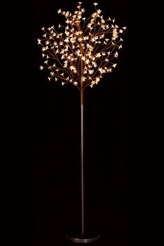 Warm White LED Tree Light - Hobby Lobby has these in white or pink...would like several....