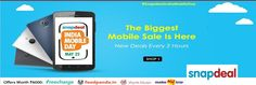 Snapdeal  The Biggest Mobile Sale is Here New Deals Every 2 Hours India Mobile Day May 25th Offers Goosedeals is leading destination for cashback coupons and best deals. Goosedeals offering some of the best deals and best products at very affordable prices, also our website is providing products with lowest prices. Grab best deals and cashback coupons More Details visit: http://www.goosedeals.com/stores/listing/snapdeal/13.html