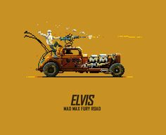 Misha Petrick & Mazok Pixels - Mad Max Fury Road Animated Pixels - Elvis