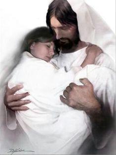 Jesus with  His child