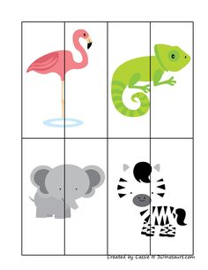 Printable Activities For Kids, Preschool Learning Activities, Preschool Worksheets, Infant Activities, Educational Activities, Zoo Preschool, Preschool Centers, Early Childhood Education, Kids Education