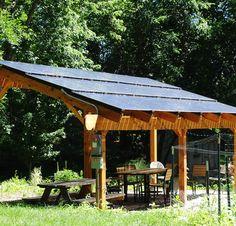 Solar Powered Pergola Gazebos