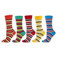 b-ella-Lorraine-Womens-Bright-Stripes-Wool-Crew-Sock