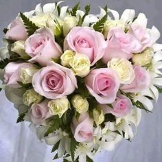 Heart of flowera
