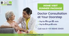 Good now customised and bundled to your doorstep. Avail our best summer on visits to your home. For details call us at 98846 Doctor On Call, Good Doctor, Doctors Day, Chennai, Health Care, Summer, Summer Time, Health