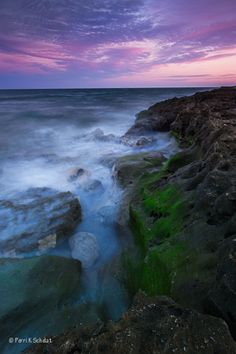 Blowing Rocks by Perri Schelat, via 500px; Blowing Rocks Natural Preserve, Jupiter Island, Florida