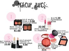 Bridal Makeup Items Name : Gallery For > Make Up Items Names