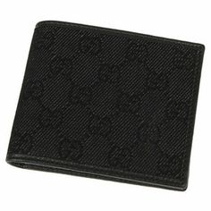 5a1f52cfe9d7c5 Gucci Black GG Wallet 231847 Mk Purse, Purse Wallet, Gucci Mens Wallet,  Black