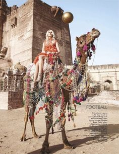 """Let the Games Begin"": Lakshmi Rana and Alys Hale by Diego Fuga for Vogue India"
