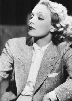 We Had Faces Then; Marlene Dietrich, 1936