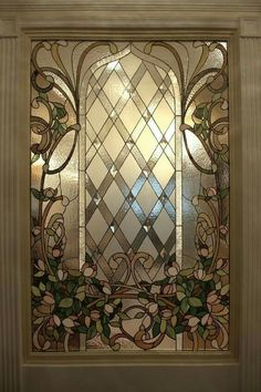 If you're struggling with windows in your home that look bad, perform poorly (maybe they don't open well or aren't very energy efficient) and don't offer the level of privacy you desire then a decorative glass window may be the… Continue Reading → Stained Glass Light, Stained Glass Door, Leaded Glass Windows, Stained Glass Designs, Stained Glass Panels, Stained Glass Patterns, Painting On Glass Windows, Beveled Glass, Mosaic Glass