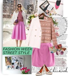 """""""Fashion Week Street Style"""" by bamaannie ❤ liked on Polyvore"""
