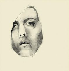 Marianne Engedal Drawings, Collages, Illustration, Prints, Artist, Faces, Paintings, Inspiration, Sketches