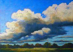 clouds,sky,himmel,wolken, soft pastels,kreide,malerei, landschaft,landscape