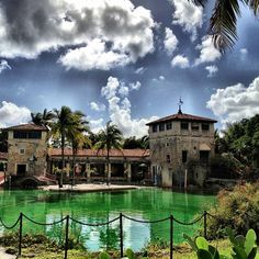 The Venetian Pool is a historic U.S. public swimming pool located in Coral Gables, Florida.