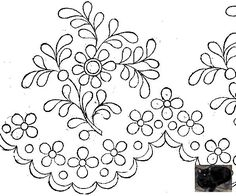 Cutwork Embroidery, Floral Embroidery Patterns, Hand Embroidery Flowers, Embroidery Fashion, White Embroidery, Hand Embroidery Designs, Motif Floral, Lace Design, Fabric Art