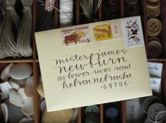 thing I like: pretty handwriting | Jones Design Company | stylish custom designs for life