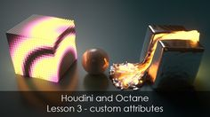 This lesson shows how you can use custom attributes in Octane in Houdini.  regards Rohan Dalvi